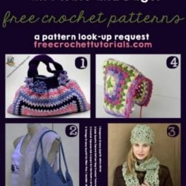 Granny Squares Into Hats and Bags Free Patterns Lookup Request Free Crochet Tutorials