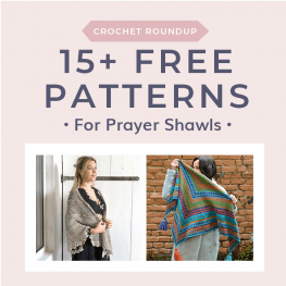 15 Free Patterns for Prayer Shawls at Free Crochet Tutorials 2