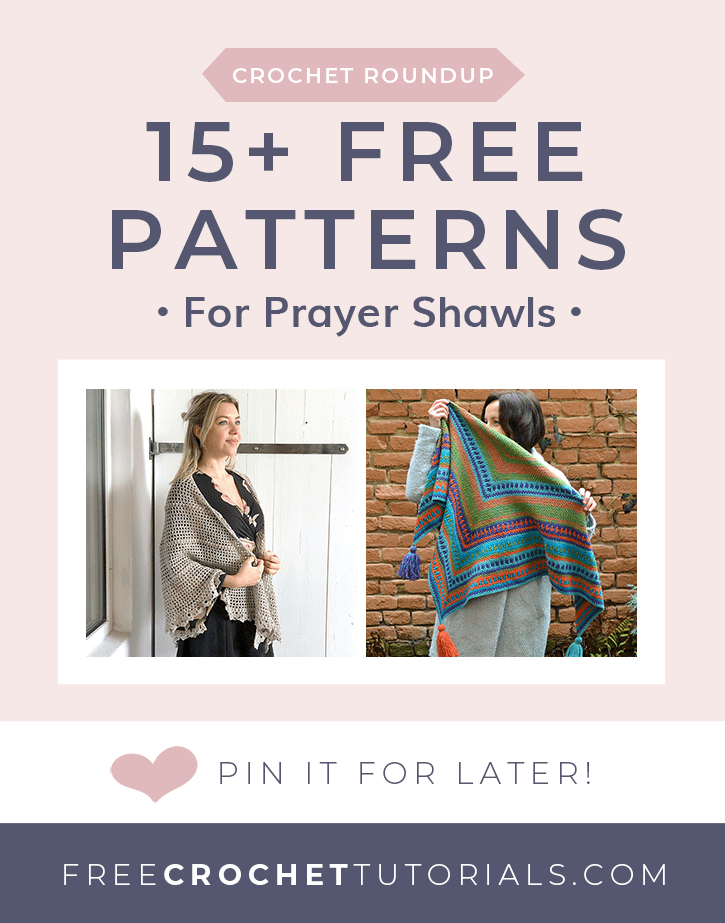15 Free Patterns for Prayer Shawls at Free Crochet Tutorials
