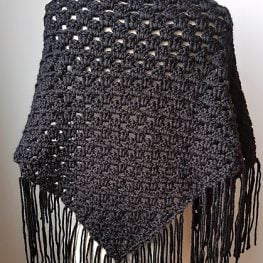 Boho Great Granny Comfort Shawl by Rhondda Mol