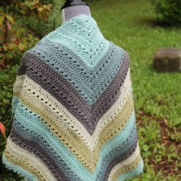 More Conversation Shawl by Michael Sellick