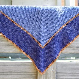 The Weekender Shawl by Kara Gunza