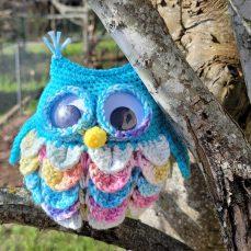 Owl Eyeglass Holder Tutorial