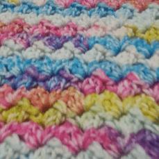 Shell Stitch Baby Blanket Tutorial