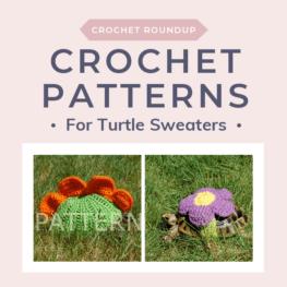Crochet Turtle Sweater Patterns