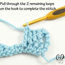 Front Post Triple Crochet Stitch Tutorial