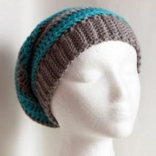 Crochet Ribbing For Brims and Cuffs Tutorial