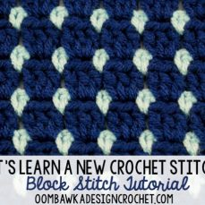 Block Stitch Tutorial