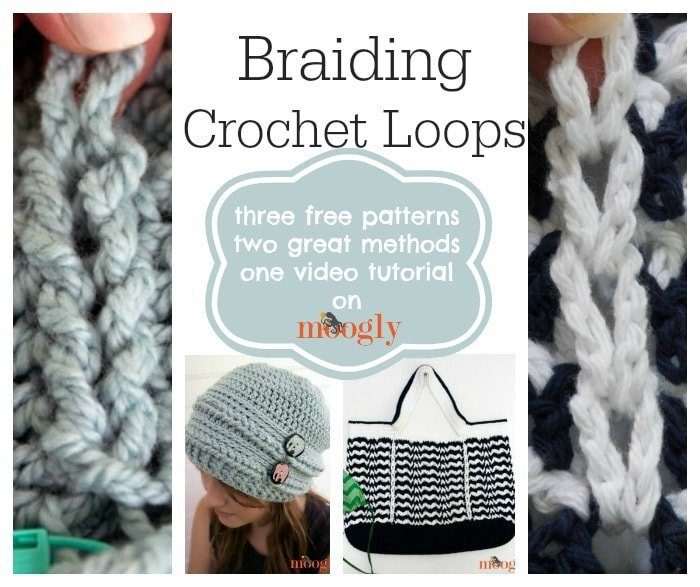 Braiding Crochet Loops Tutorial