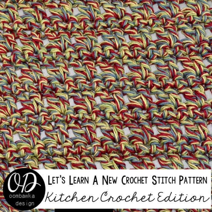 Learn how crochet a variation of a V-Stitch (V-St) pattern with this photo tutorial. Instructions are also included to make a 6