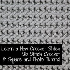 Slip Stitch crochet Tutorial