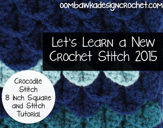 Crocodile Stitch Tutorial