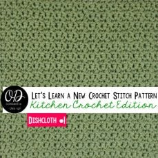 Simplest Single Crochet variation stitch tutorial