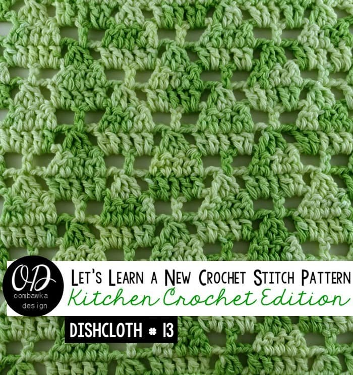 Learn how crochet the little Christmas treestitch pattern with this photo tutorial. Instructions are also included to make a 6