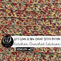 Single crochet Cluster Stitch