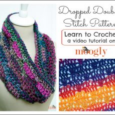 Dropped Doubles Stitch Pattern Tutorial