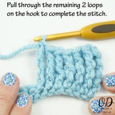 Front Post Triple Triple Crochet Stitch Tutorial