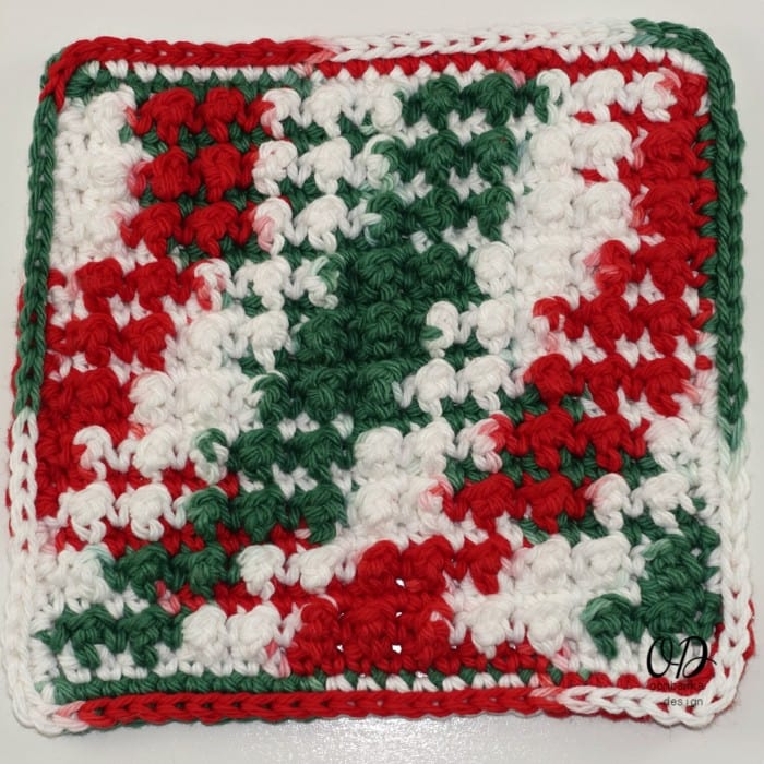 Very Merry Scrubby Stitch Tutorial