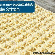 Granule Stitch Tutorial