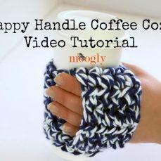 Happy Handle Coffee Cozy Tutorial