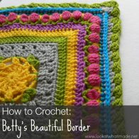 Bettys Beautiful Border Tutorial