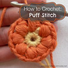 Puff Stitch Tutorial