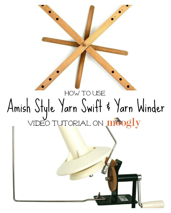 How to Use a Yarn Swift and Winder Tutorial