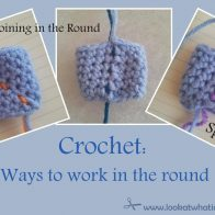 Crochet in the Round Spiral vs Joining Tutorial
