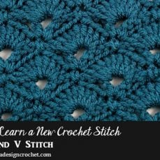 Fan and V-Stitch Tutorial
