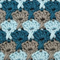 Stormy Seas Stitch Pattern Tutorial