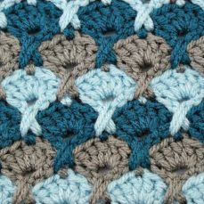 Stormy Seas Stitch Pattern Tutorial
