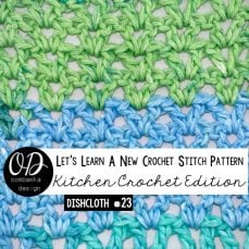 Lacy V-Stitch Tutorial