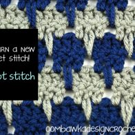 Larksfoot Stitch Tutorial