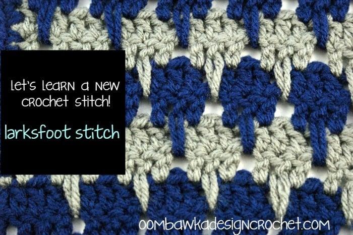 Larksfoot Stitch Tutorial