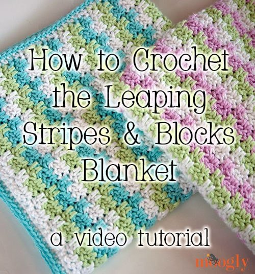 Leaping Stripes and Blocks Blanket Tutorial