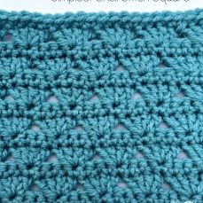 Simplest Shell Stitch Tutorial