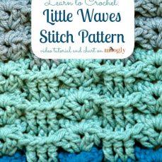 Little Waves Stitch Pattern Tutorial