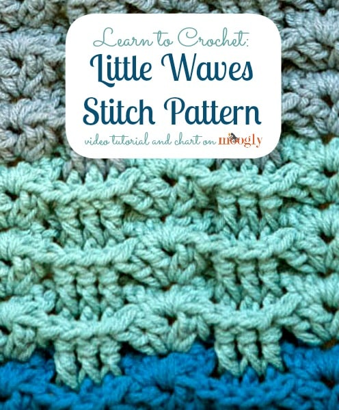 Little Waves Stitch Pattern Tutorial