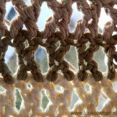 Treble Cross Stitch ( K Stitch ) Tutorial