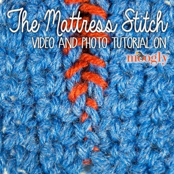 Mattress Stitch Seaming Tutorial