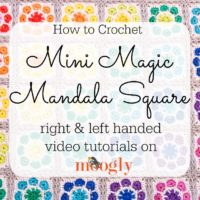 Mini Magic Mandala Square Tutoria