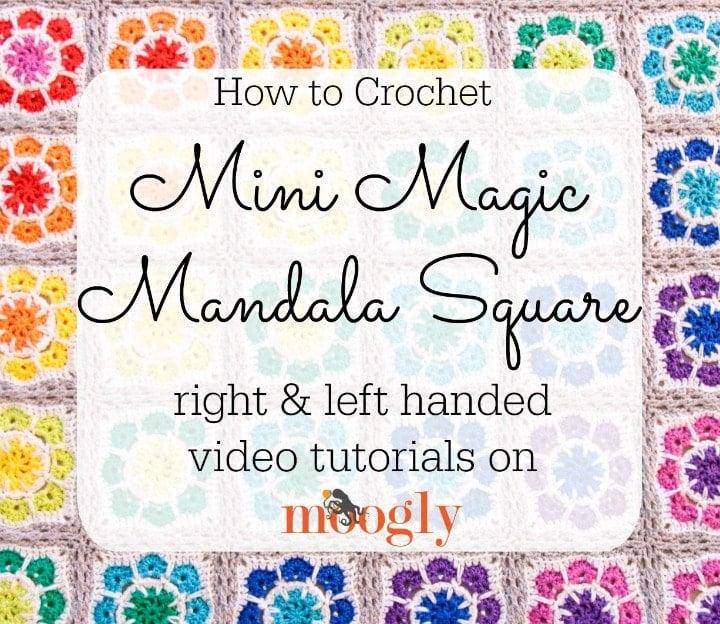 Mini Magic Mandala Square Tutorial