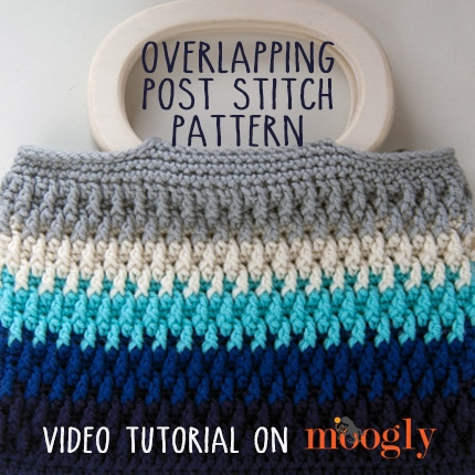Overlapping Post Stitch Tutorial