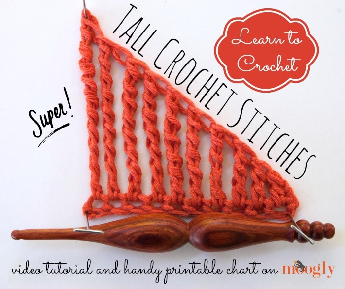Tall Crochet Stitches Tutorial