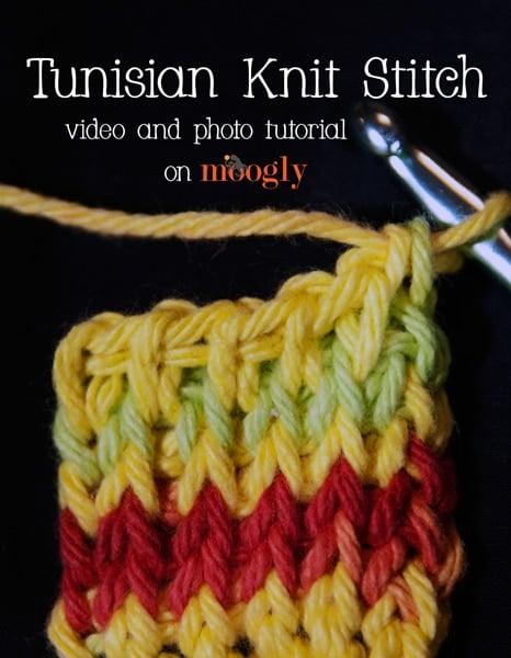 Tunisian Knit Stitch Tutorial
