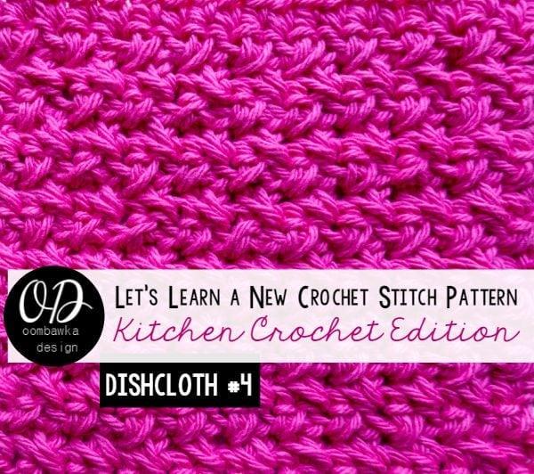 Crossed Single Crochet Stitch Tutorial