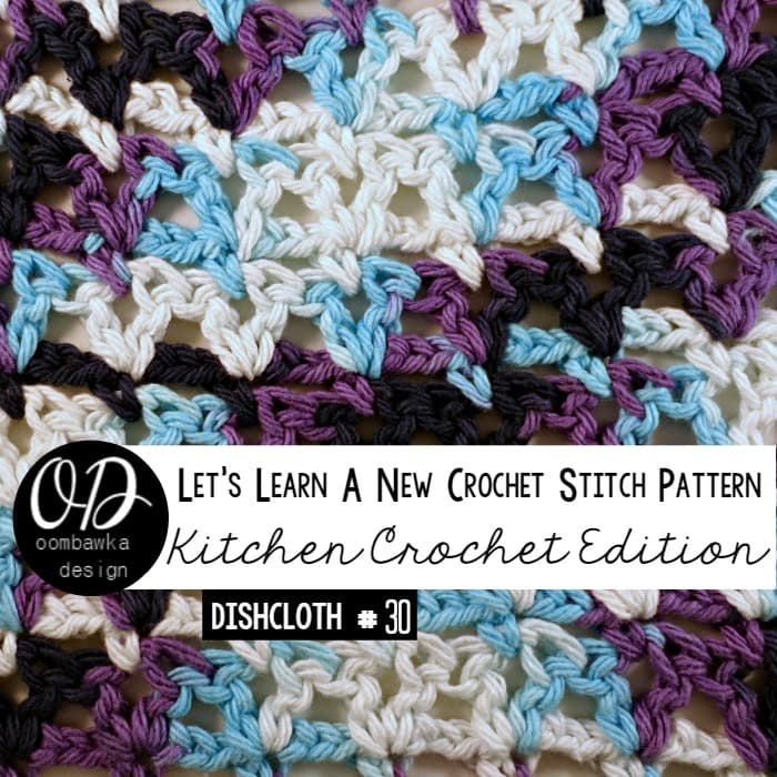 Learn how crochet the V-Stitch (V-St) with this photo tutorial. Instructions are also included to make a 6
