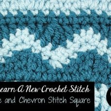 Wave and Chevron Stitch Tutorial