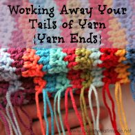 How to Work in Tails of Yarn Tutorial