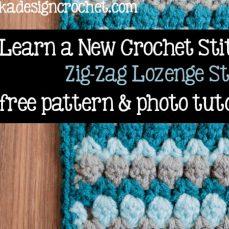 Zig Zag Lozenge Stitch Tutorial
